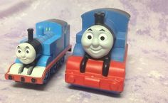Thomas The Tank Engine Train Toy Lot cake topper