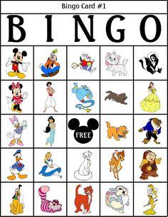 RobbyGurls Kreationen: Disney Bingo - Eye Make up Disney Day, Disney Theme, Disney Love, Disney Souvenirs, Disney Trips, Disney Activities, Activities For Kids, Disney Games For Kids, Disney Classroom