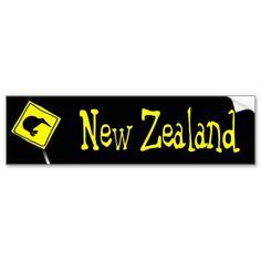 Beware of #Kiwis Bumper sticker #kiwi #newzealand