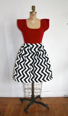 Twin Peaks Black Lodge inspired dress!
