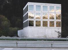 Guignard & Saner Architekten AG  Highway Chapel, Uri, Switzerland, 1998
