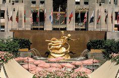 pictures of the atlas at the rockefeller center new york | Rockefeller Center