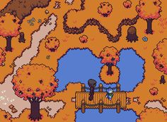 It's #ScreenshotSaturday so here's a new area reveal!   Find more info about 2D RPG Towards The Pantheon at http://www.connorlinning.com/ttp   #gamedev #indiedev #indiegame #pixelart #gameart #videogames #rpg