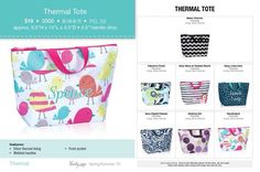 Thermal tote - perfect size for teachers, teenagers, middle schoolers mythirtyone.com/carlacannoy