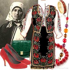 Traditional Romanian Costume (well..without the shoes :P)