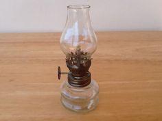 Vintage Miniature Kerosene Lamp on Etsy, $7.00