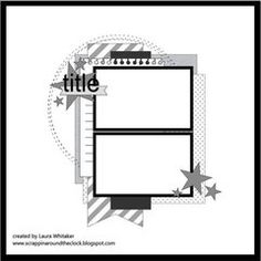 Find more inspiration in the Scrapbook.com Sketch Gallery today. #scrapbookcom