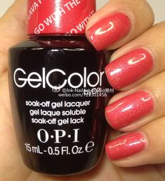 OPI Hawaii 2015  So beautiful! Can't wait to use this on my shellac clients!