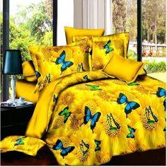 3D Bedding Sets HD Reactive Printing Beding Duvet Cover Bed Sheet Pillowcase Bedclothes Bedding Set Home Textiles FREE SHIPPING
