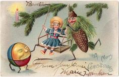 19th century postcard | greetings | Pinterest | Vintage, Postcards ...