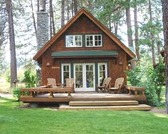 Metolius River Resort cabins in central Oregon