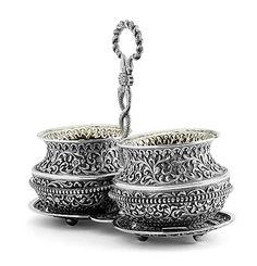 Indian Silver during the Raj: • Kutch (Cutch), Bhuj, Gujarat