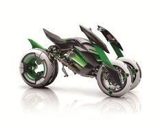 第43回東京モーターショー。カワサキブースのコンセプトバイク