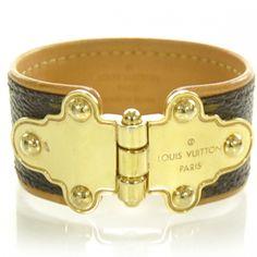 LOUIS VUITTON ~ Monogram Save It Bracelet.