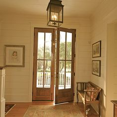 Eight Foot Exterior French Double Doors With Glass For Entry Design, Pictures, Remodel, Decor and Ideas
