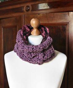 Crochet scarf handmade with love ❤ mushroomservice.wordpress.com