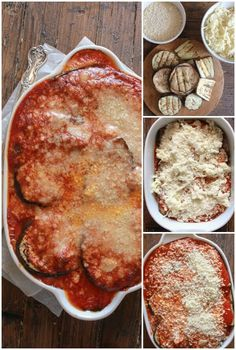 Grilled Eggplant Parmesan a delicious classic Italian recipe, no-fry baked cheesy dish the whole family will love, gluten free, vegetarian.