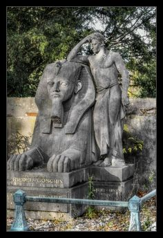 The Egyptian by *RoSaVision on deviantART ~ Unterbarmer Cemetery Wuppertal, Germany