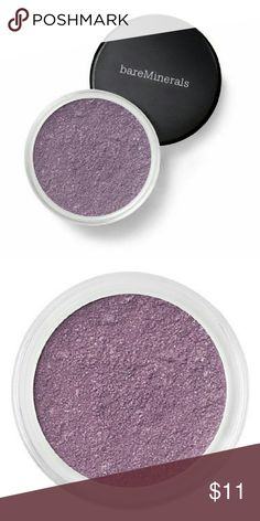 BareMinerals Eye Shado in Waterlilly New. No seal. Purple matte shade Sephora Makeup Eyeshadow