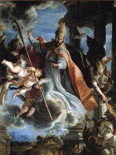 Triunfo de San Agustín-Claudio Coello