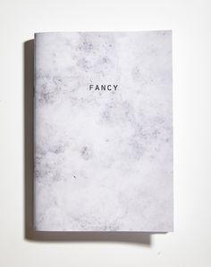 Fancy marble notebook notepad www.paperosa.pl