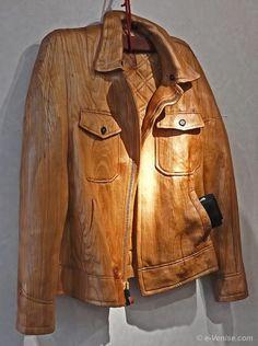 Carved Wooden Jacket