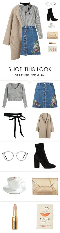 """""""Bold as Love // John Mayer"""" by greciapaola ❤ liked on Polyvore featuring Miss Selfridge, GlassesUSA, Valentino, Sur La Table, Bobbi Brown Cosmetics and Kate Spade"""