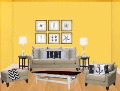 nautical living room concept