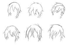 112 Best 发型 Images How To Draw Manga Manga Hair Anime Hair