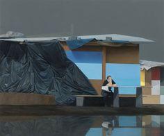 Tim Eitel  Architect    2012  Öl auf Leinwand  210 x 250 cm