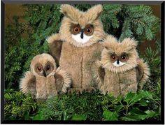 Bubo Hermes Tootsie Owl World's Largest Source of Luxury Handmade Eagles