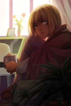 Armin Arlert - Attack on Titan - Mobile Wallpaper - Zerochan Anime Image Board Aot Armin, Levi Squad, Mermaid Boy, Historia Reiss, Attack On Titan Fanart, Art Blog, Blond, Fan Art, Deviantart