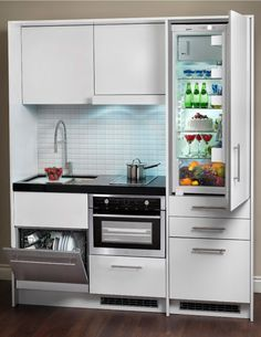 Fantastic modern kitchen room are available on our website. Kitchenette Studio, Kitchen And Kitchenette, Basement Kitchen, Mini Kitchen, Kitchen Sets, Rustic Kitchen, Kitchen Decor, Kitchen Cabinets, Kitchen Appliances