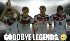 Die mannschaft will never be the same without you Germany Soccer Team, Germany National Football Team, World Football, Football Soccer, Thomas Müller, German National Team, We Are The Champions, Win Or Lose, Sports Illustrated