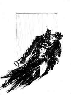 Batman & Catwoman - Ariela Kristantina