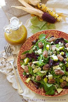 Fall Salad with Appl