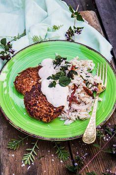 Vegetarian Recipes, Healthy Recipes, Food Hacks, Risotto, Healthy Food, Dinners, Snacks, Vegan, Ethnic Recipes