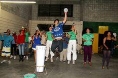 """A festa de encerramento do projeto """"Percussão Brasil 2013"""" acontece no domingo, dia 24, na sede do Núcleo de Estudos de Cultura Popular (NECUP), a partir das 14h. A entrada é Catraca Livre."""