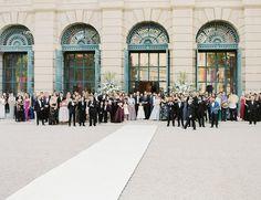 Receiving the newly weds 🎊🎉🥂🍾 📷 Newlyweds, Elegant Wedding, Louvre, Street View, Crown, Weddings, Building, Travel, Just Married