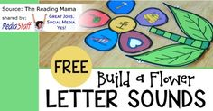 Build a Flower Letter Sounds Sort  - pinned by @PediaStaff – Please Visit ht.ly/63sNtfor all our pediatric therapy pins