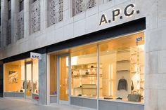 A.P.C. Store by Laurent Deroo, Los Angeles – California » Retail Design Blog