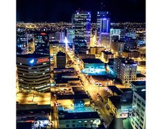 Photo of Winnipeg at Night Fine Art Photo Entitled by CarlaDyck Riding Mountain National Park, Queen Street West, Mix Use Building, Local Photographers, Fine Art Photo, Landscape Prints, Places To Visit, Canada, Lights