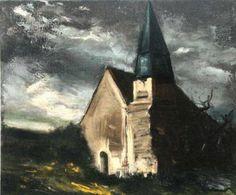 Maurice de Vlaminck - Eglise de Saint-Lubin