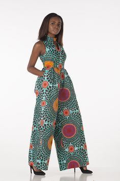 Rock the Latest Ankara Jumpsuit Styles these ankara jumpsuit styles and designs are the classiest in the fashion world today. try these Latest Ankara Jumpsuit Styles 2018 African Fashion Designers, African Inspired Fashion, African Dresses For Women, African Print Dresses, African Print Fashion, Africa Fashion, African Attire, African Wear, African Fashion Dresses