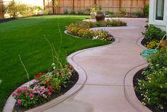 Small Backyard Landscaping Walkway