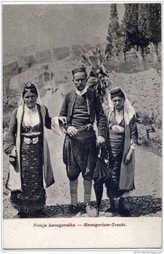 Херцеговачка ношња - Folk wear from Herzegovina