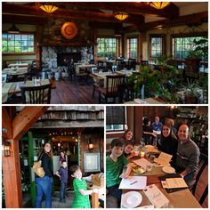 Vancouver Island, BC. Comox Valley. We loved our first family fine dining experience! Locals Restaurant.