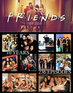 Every summer I choose one classic tv show to watch and this summer I enjoied watching FRIENDS for like the 7th time. I still love this tv show and for me it Will never get old.  #Friends
