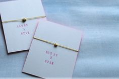 Lotts and Lots | Making the everyday beautiful: DIY - Silk Star Bracelet