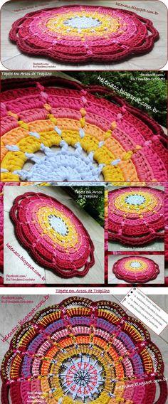Fascinating rug hook. Very simple...♥ Deniz ♥